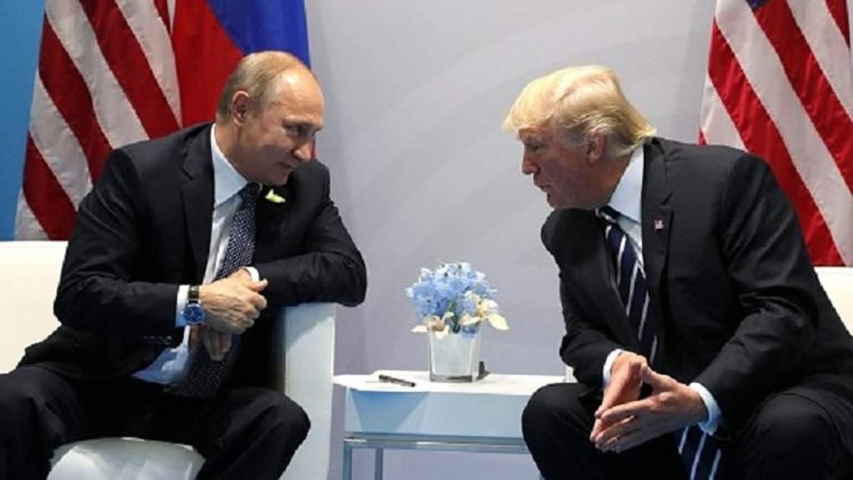 Трамп оценил встречу с Путиным