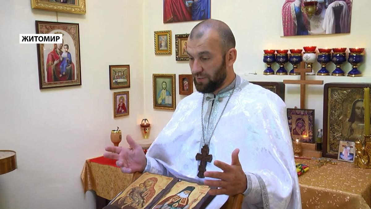 Как священник в Житомире сочетает духовенство и тренировки детей смешанным единоборствам