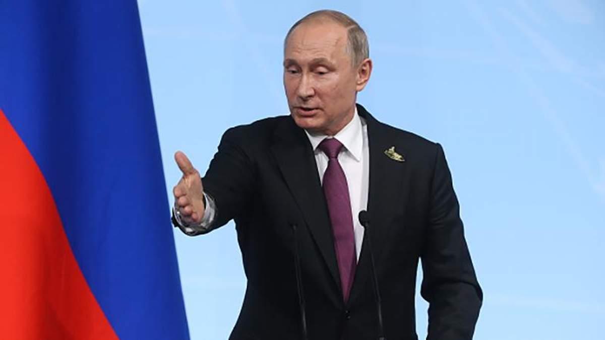 Україна та Росія є зацікавленими у співпраці, але Київ торгує русофобією, – Путін
