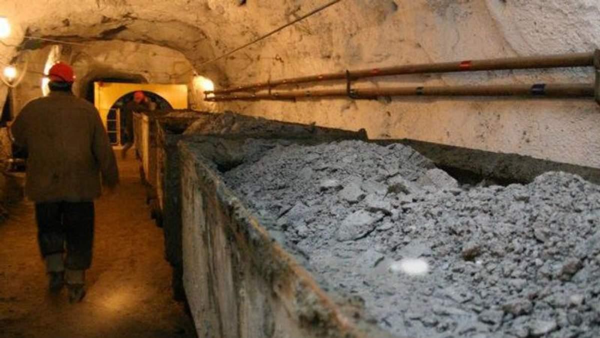 На донецкой шахте произошел несчастный случай