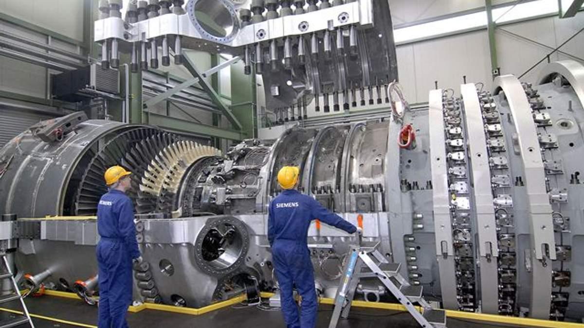 Встановлення турбін Siemens у Криму: скандал отримав продовження