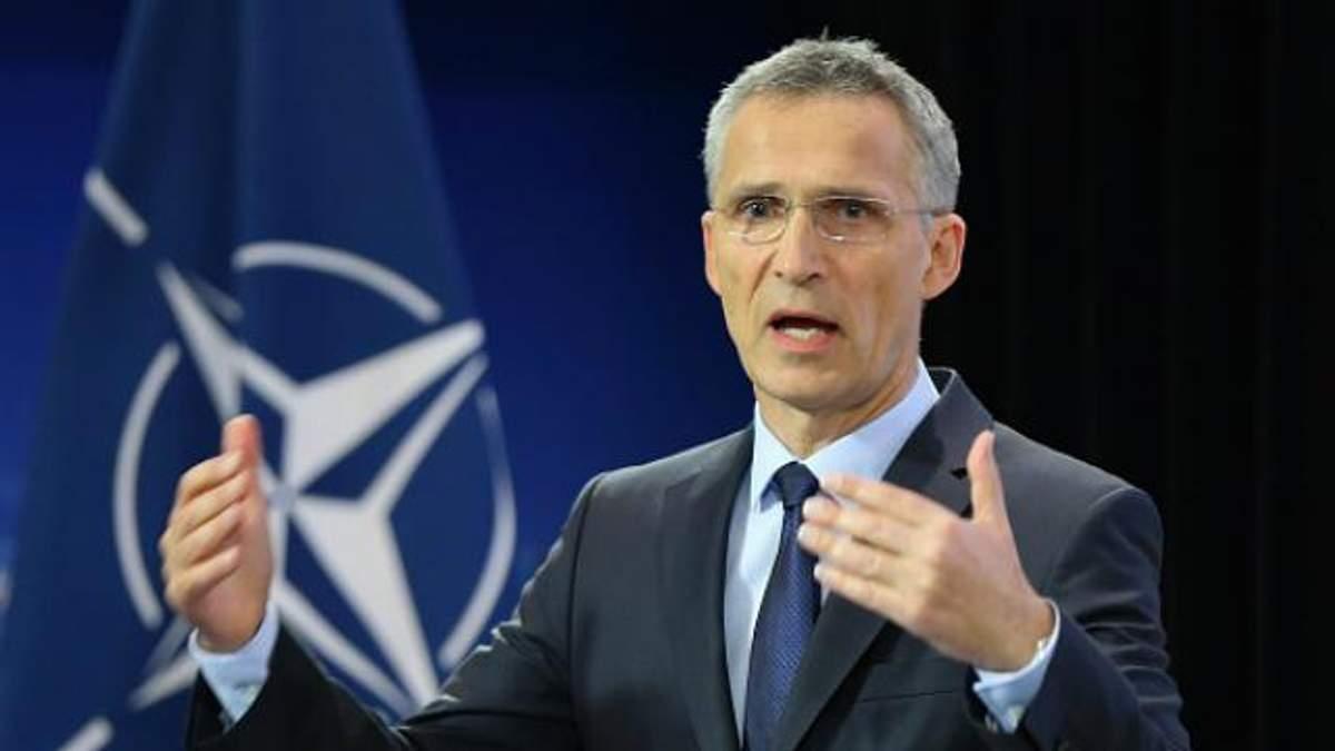 НАТО також не однаково, – як Столтенберг у Раді цитував Шевченка
