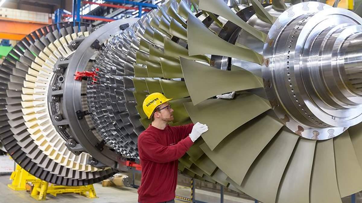Газові турбіни Siemens (Ілюстрація)