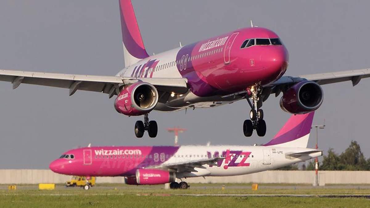 Лоукостер Wizz Air снизил тарифы из-за отмененных рейсов Ryanair из Украины