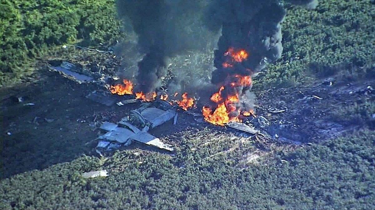 Кількість жертв внаслідок авіакатастрофи у США різко зросла