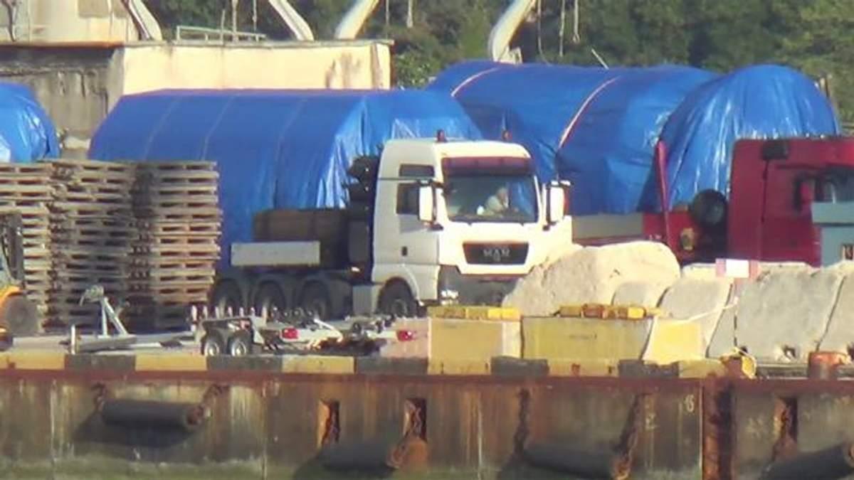 У Криму з'явилися нові газові турбіни, імовірно виробництва Siemens