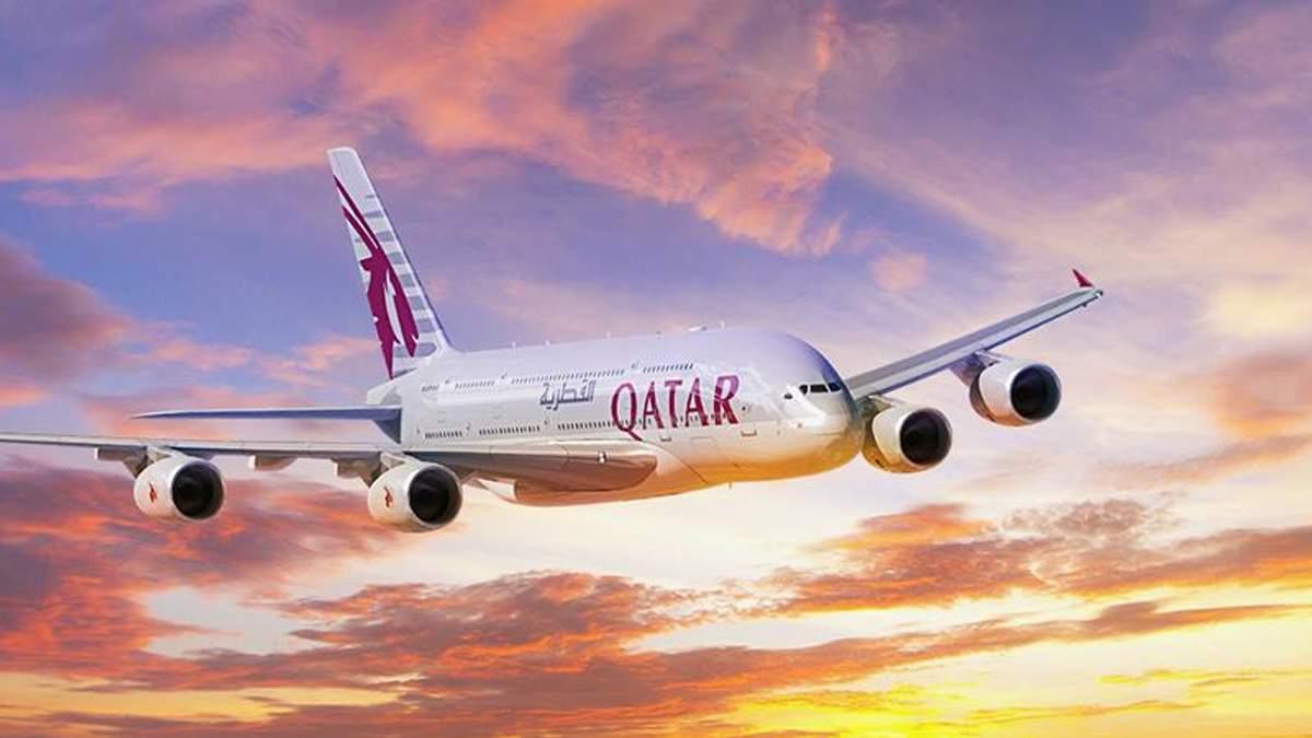 Авіакомпанія Qatar Airways офіційно зайшла на український ринок: з'явився розклад рейсів
