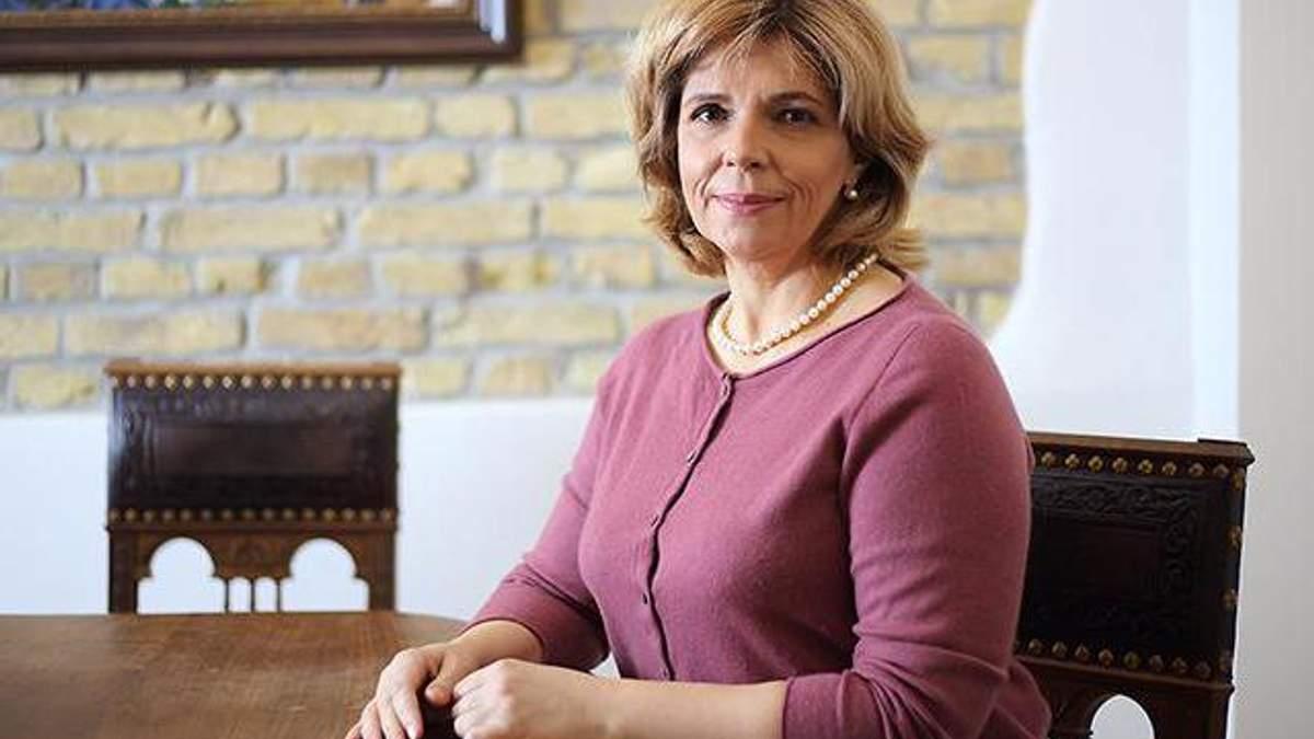 Ольга Богомолец в больнице