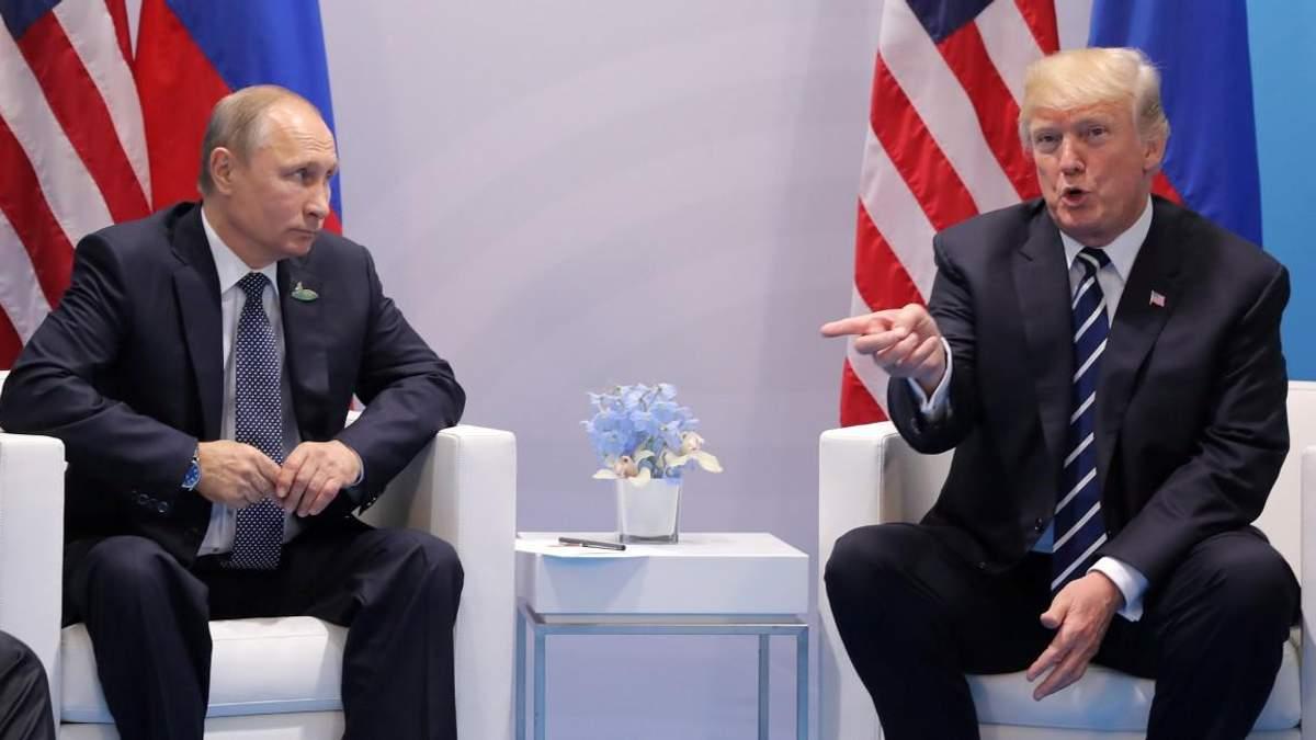 Трамп прокомментировал встречу с Путиным