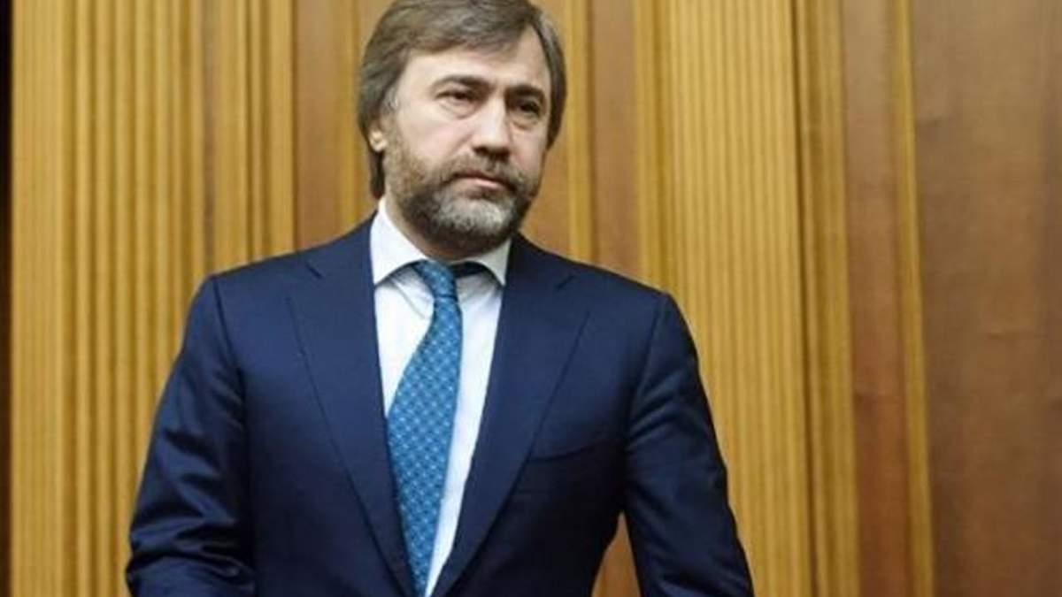 Завод Вадима Новинского взят под арест