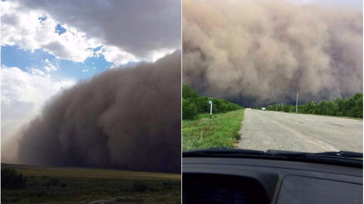 Ураган в Казахстані