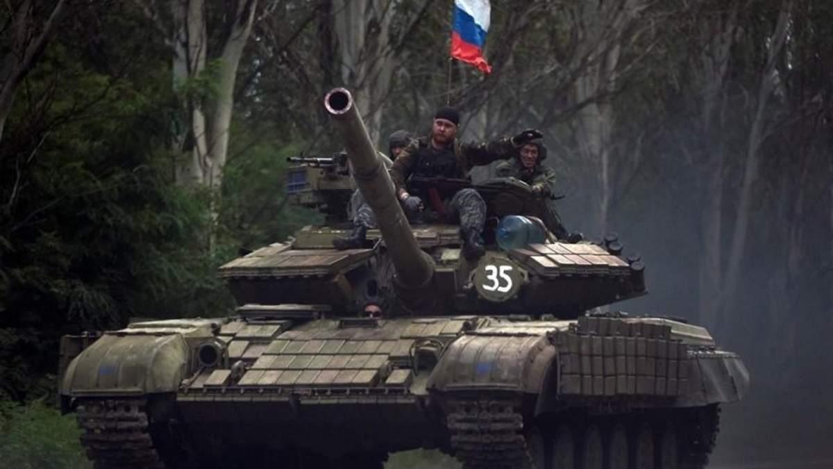 Російські війська на Донбассі