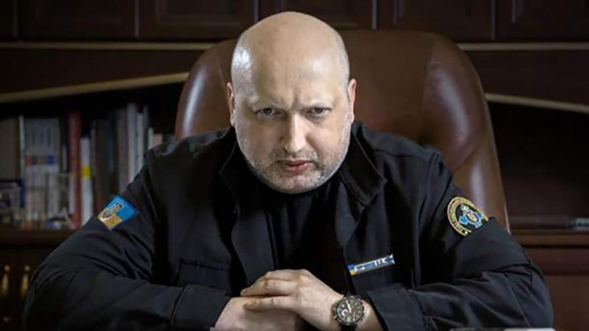 """Турчинов о """"Малороссии"""": Это извращенный бред, написанный в Кремле"""
