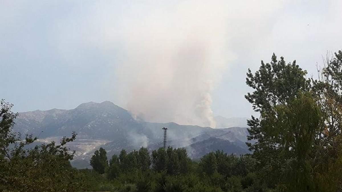 Лесные пожары в Хорватии добрались до курортных городков: появилось видео