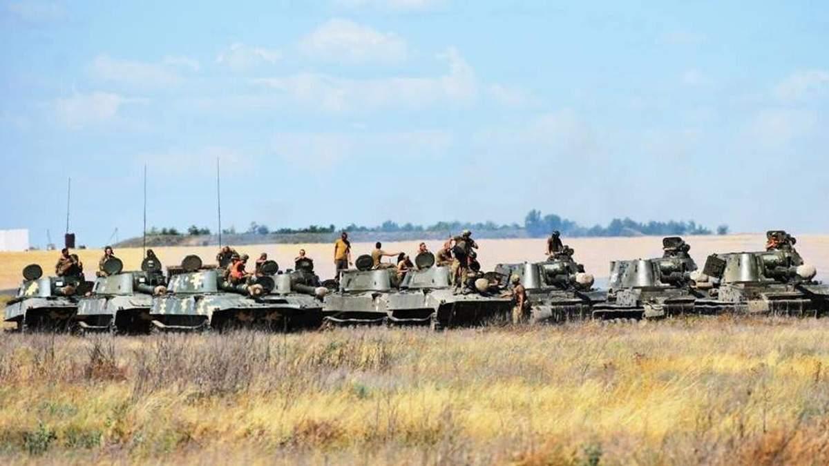 Масштабные учения ВДВ Украины состоялись в сразу в нескольких городах