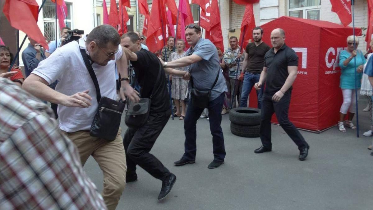 Драка Мосийчука и Каплина: опубликовано видео