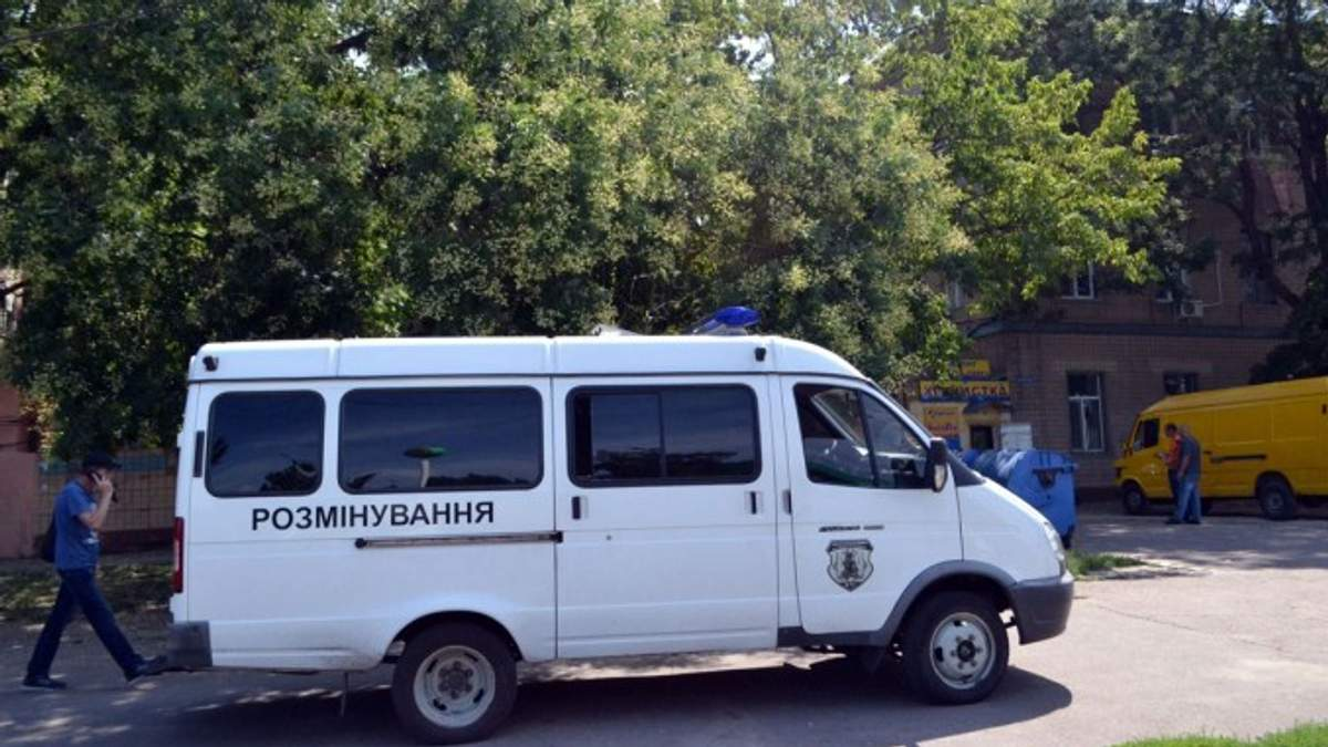 На місці вибуху гранати в Одесі