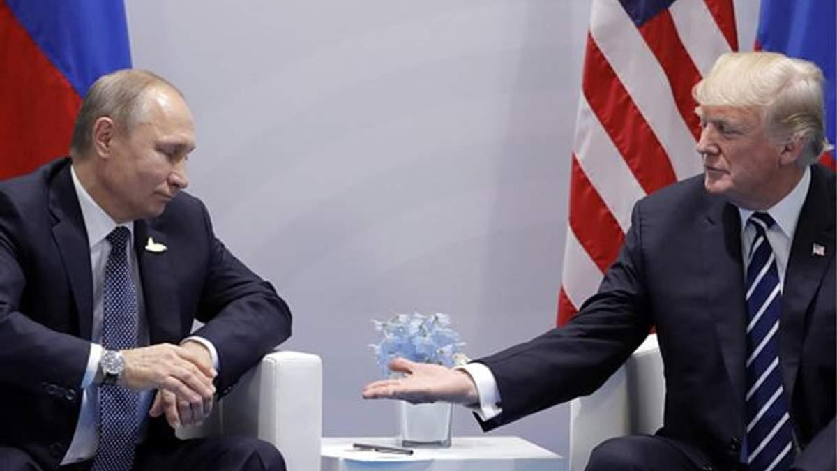 """Стало известно о тайной встрече Трампа и Путина на саммите """"Большой двадцатки"""""""