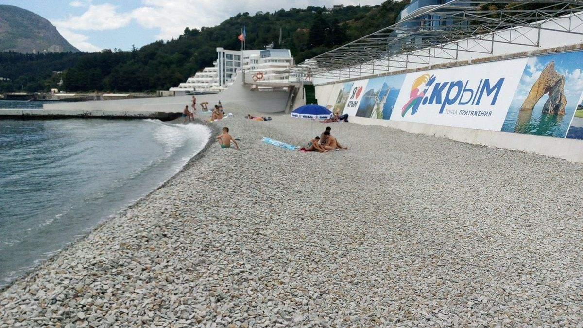 Пляжі в Криму