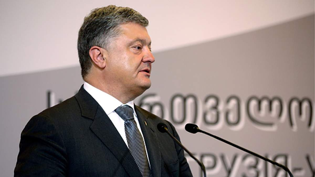 Петро Порошенко в Грузії