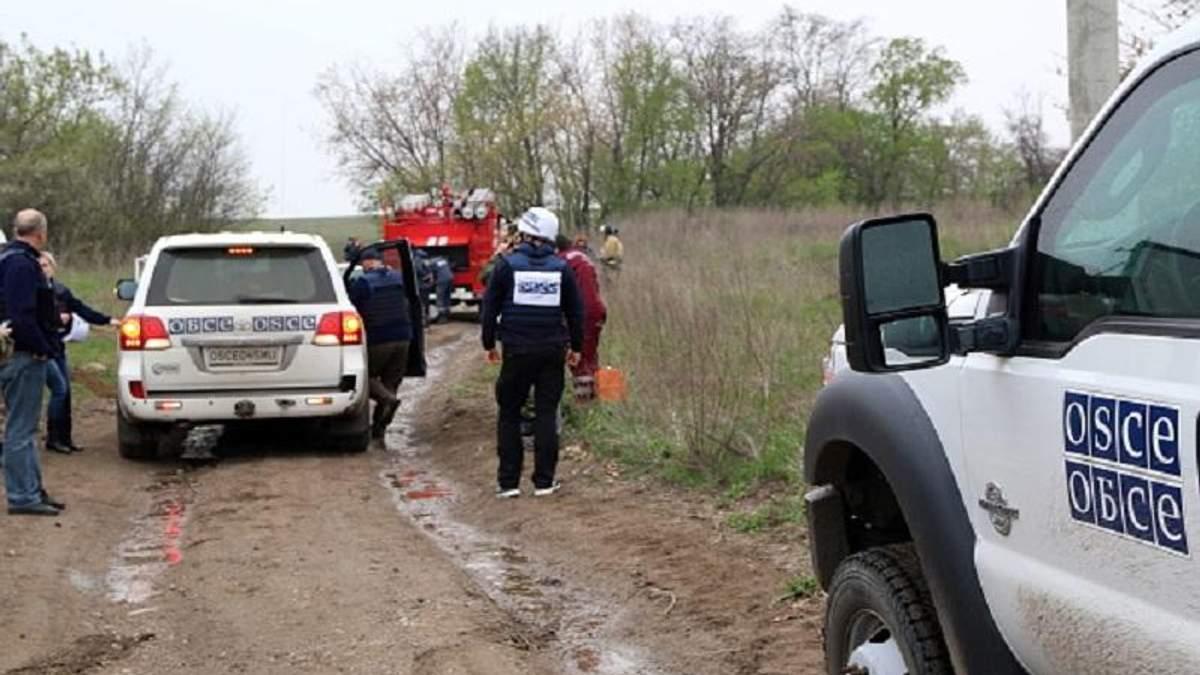 Возле украино-российской границы возросло количество военной техники, – ОБСЕ