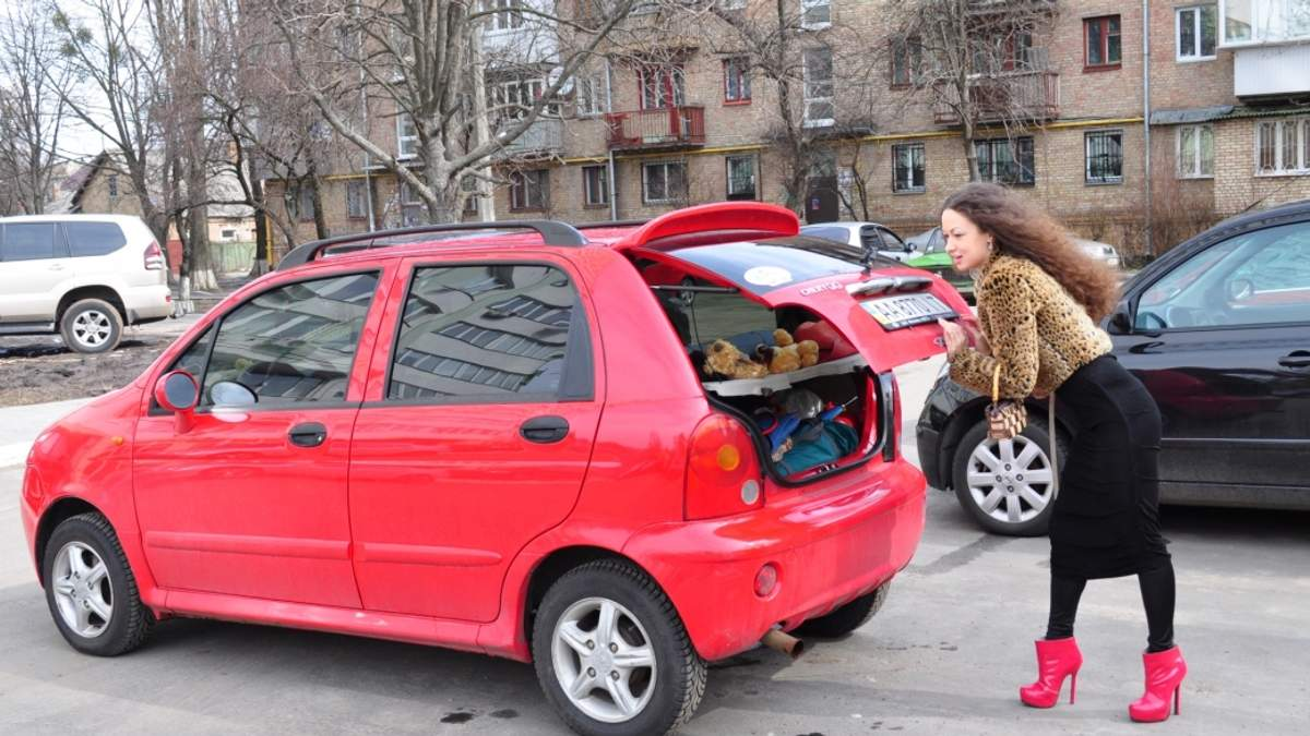Яким має бути автомобіль для жінки?
