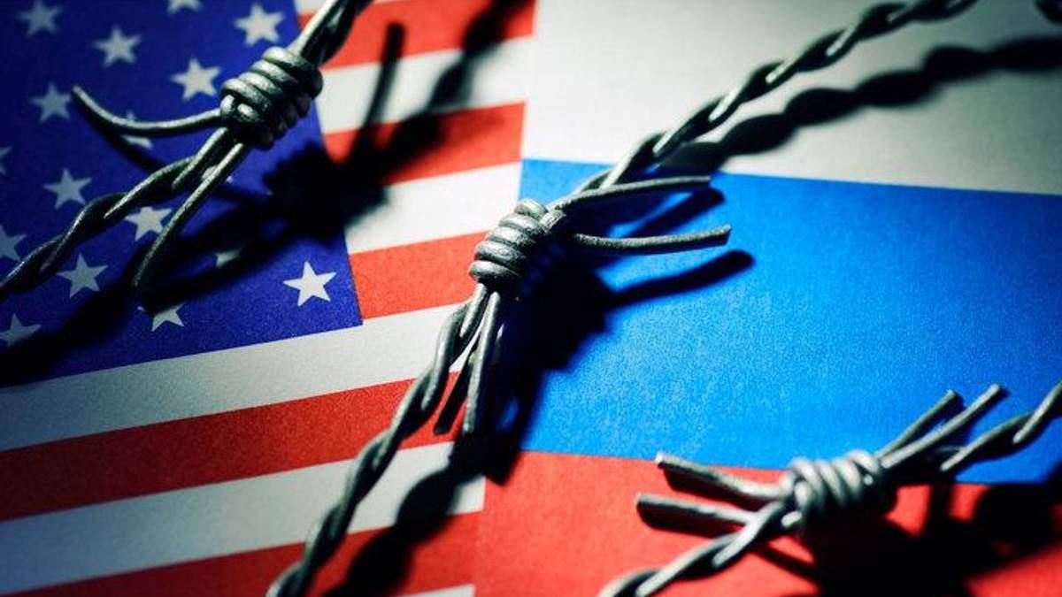 Американські санкції проти РФ