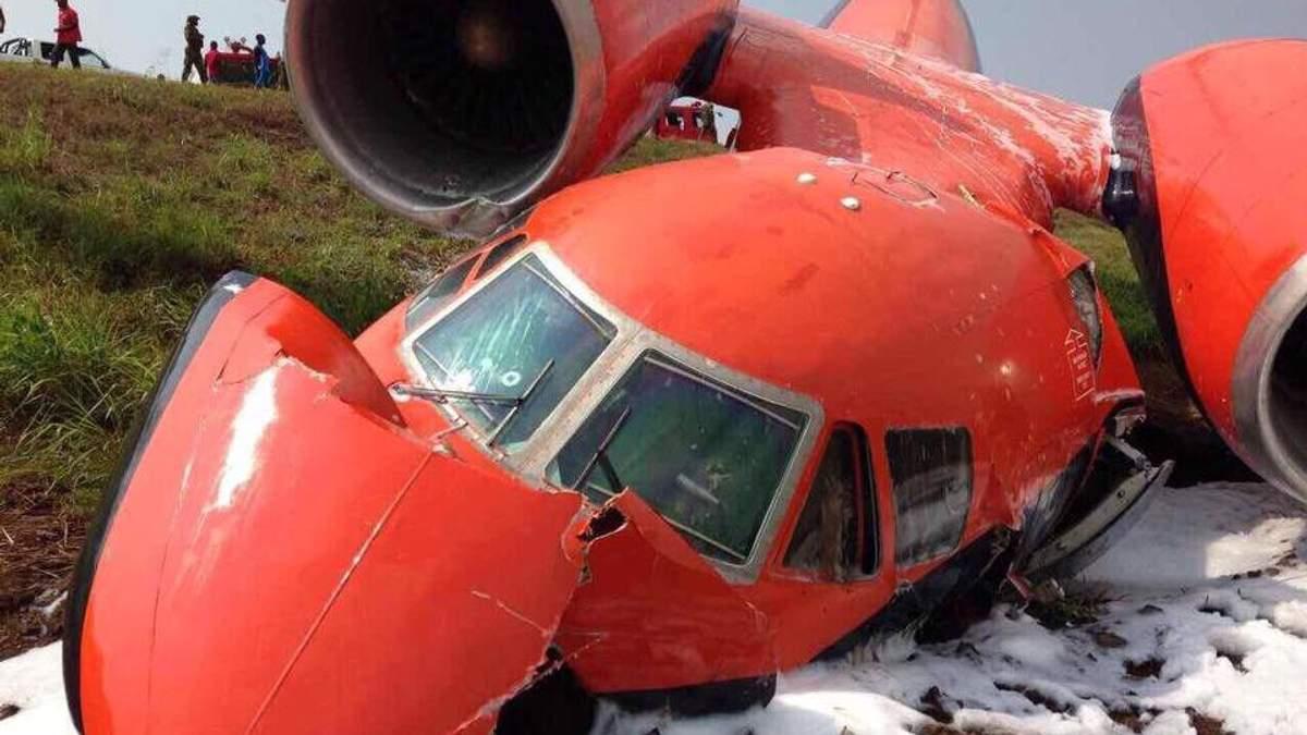 Катастрофа українського літака в Африці