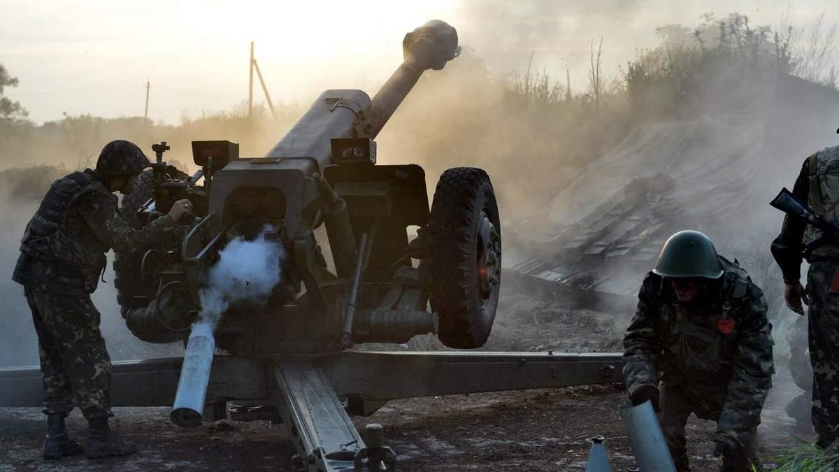 Обстріл з боку терористів Донбасу