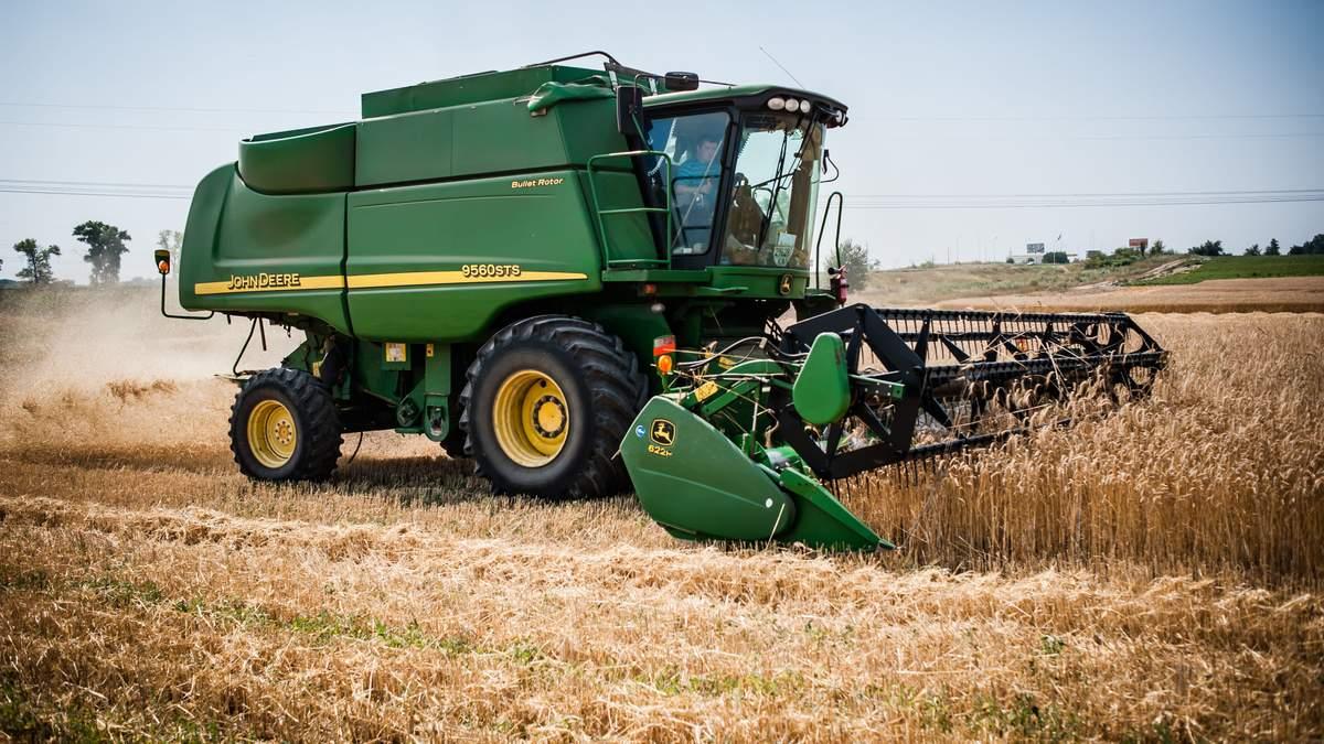 Экспорт зерновых процветает