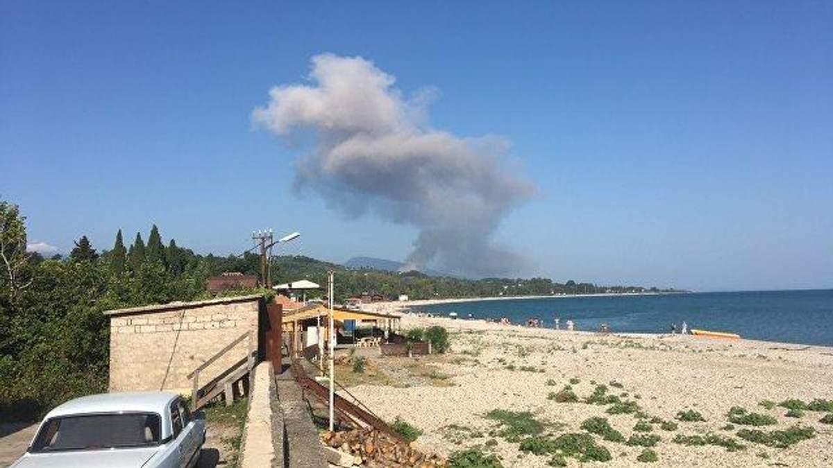 В Абхазії прогримів вибух