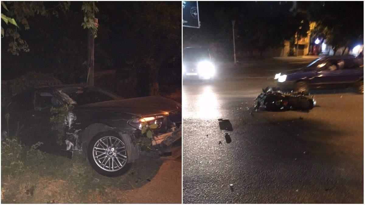 Водій з посвідченням майора СБУ збив мотоцикліста і зник з місця аварії