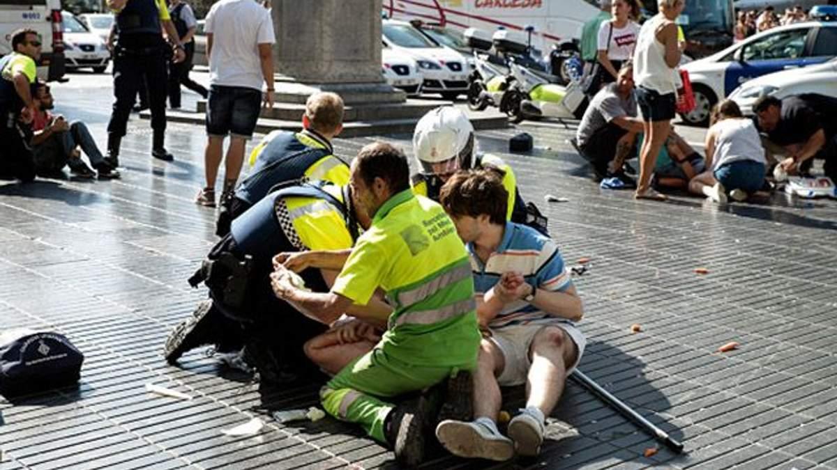 Теракт у Барселоні: загинули та отримали поранення громадяни 18 країн