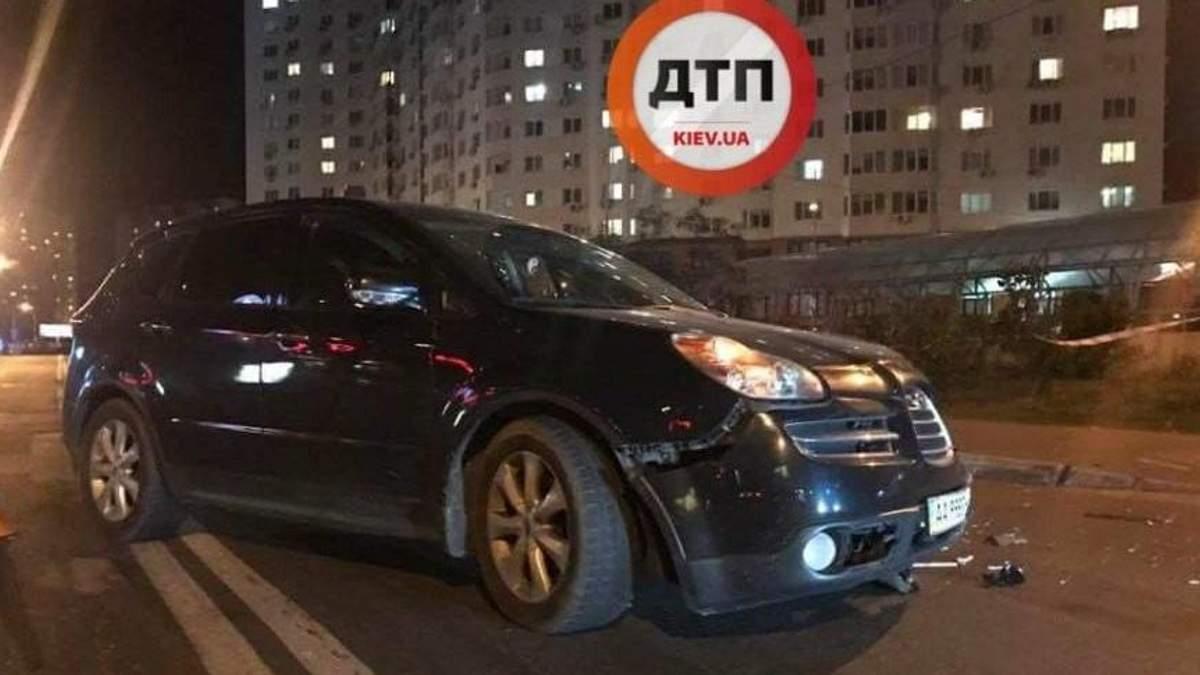 Полиция отвергла причастность своего сотрудника к резонансной аварии в Киеве