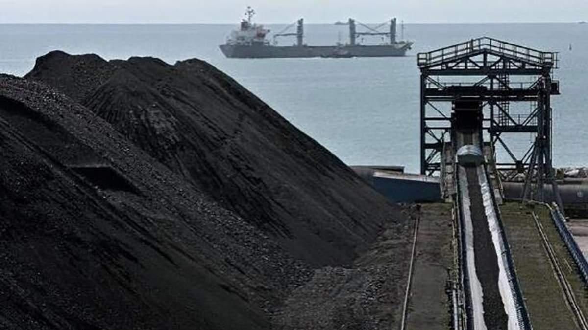 До України відправили першу партію американського вугілля