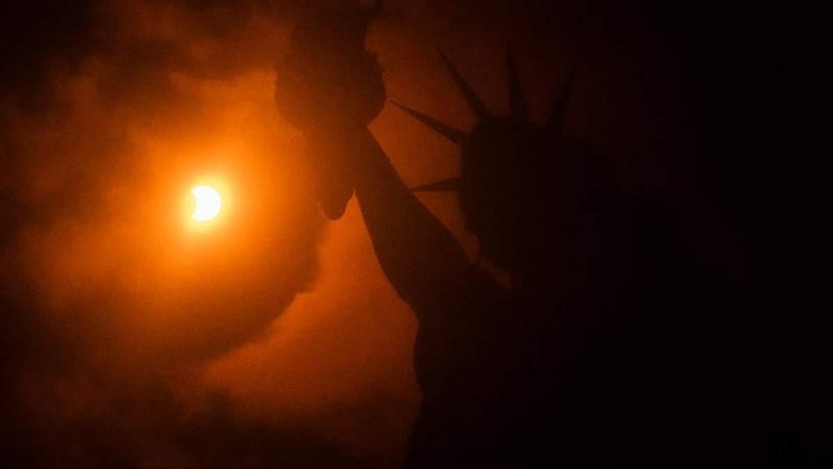 Сонячне затемнення 21 серпня