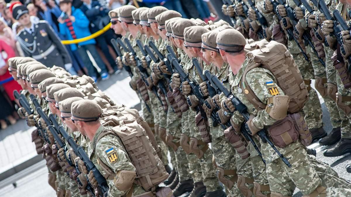 Історія військових парадів в Україні: промовисті відео