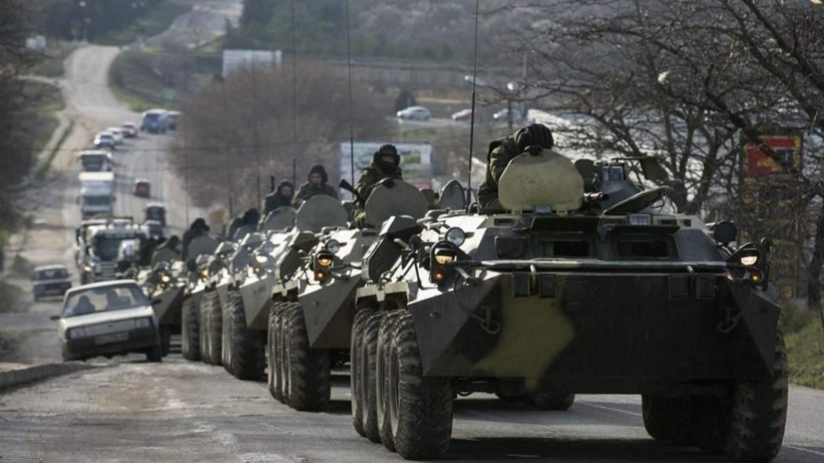 Россия привела в полную боевую готовность военные части оккупированного Крыма