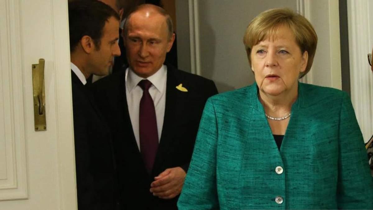 Німеччина не має наміру знімати санкції з Росії