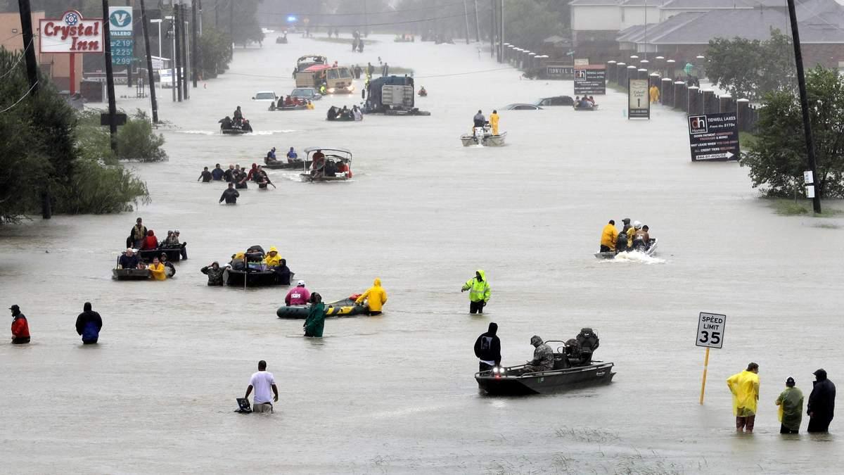 Ураган Харви – климатическое будущее США, – американский журналист