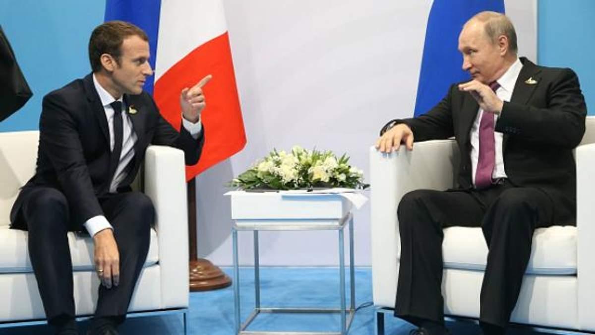 Мы не позволим, чтобы ему все сошло с рук, – Макрон жестко предостерег Путина