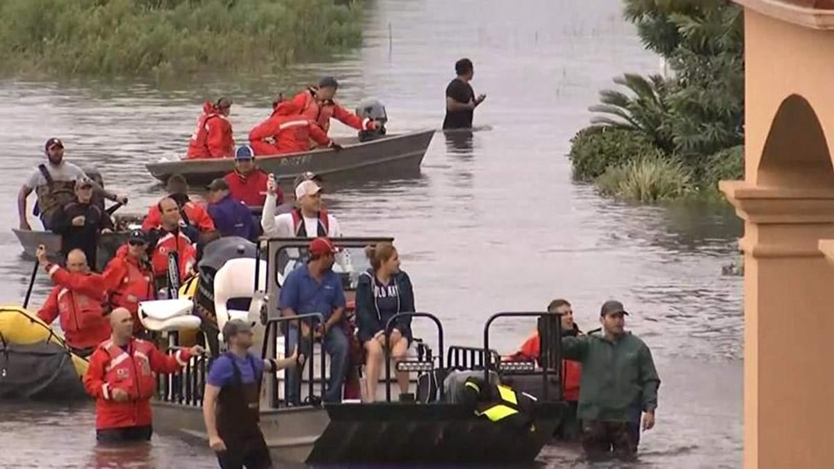 """Збитки від урагану """"Гарві"""" можуть сягнути 125 мільярдів доларів"""