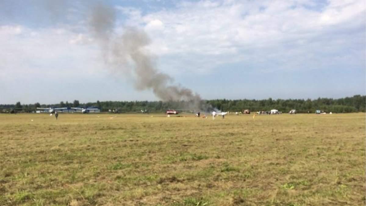 На авиашоу в России разбился самолет Ан-2: есть жертвы