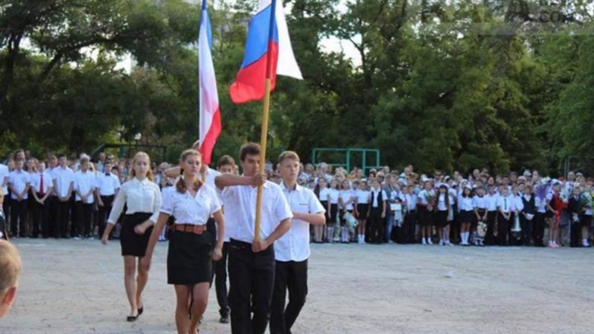 Чи звучить українська мова в кримських школах