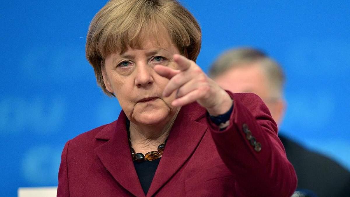 Меркель зробила заяву з приводу переговорів з Росією