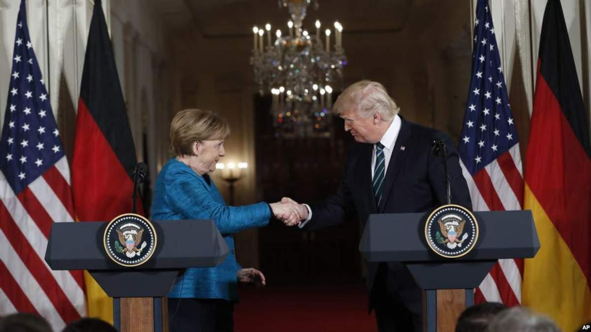 Меркель і Трамп зайняли категоричну позицію щодо КНДР