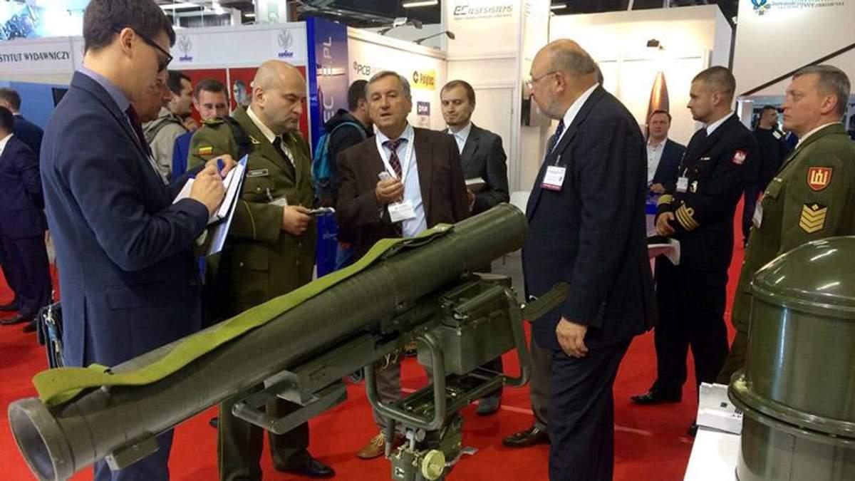 Україна повезла зразки свого озброєння на найбільшу виставку у Польщі