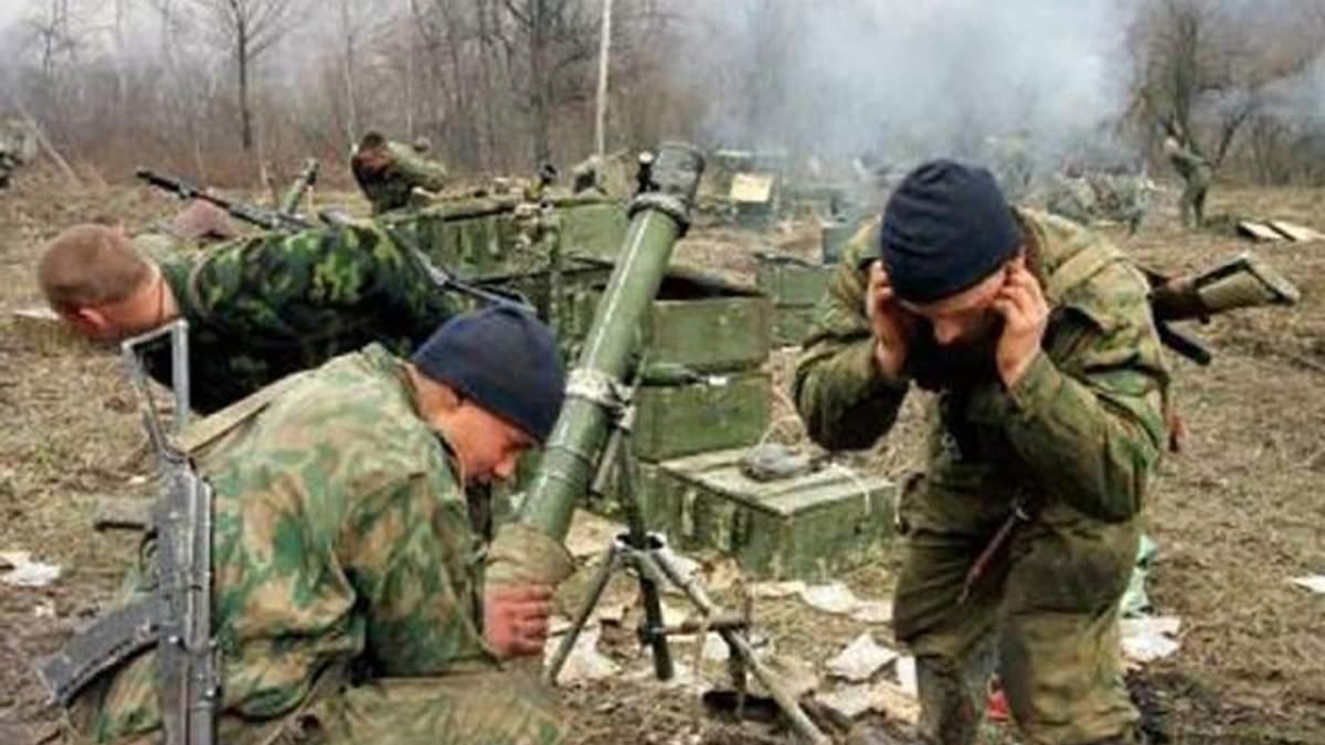 """Ситуація в зоні АТО: бойовики """"накрили"""" українських військових з великокаліберних кулеметів"""