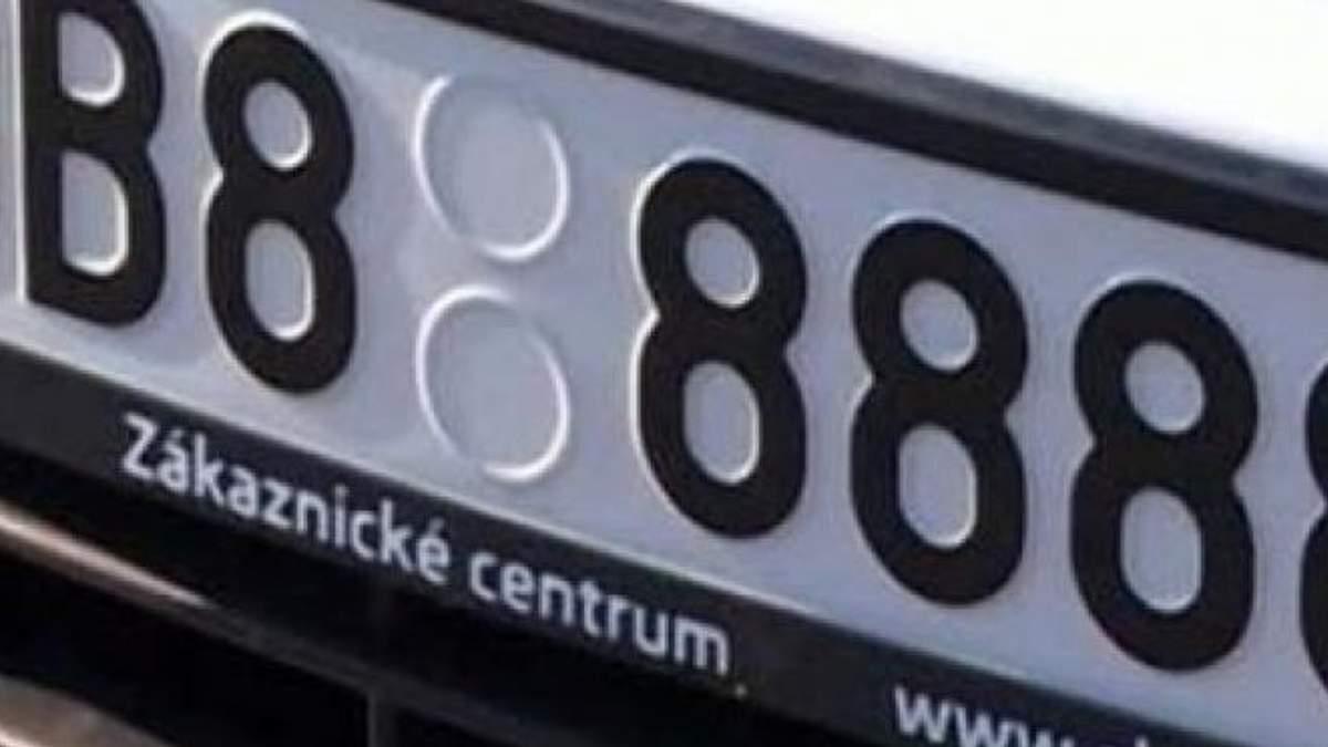 В ДФС назвали, скільки авто на єврономерах їздить Україною незаконно