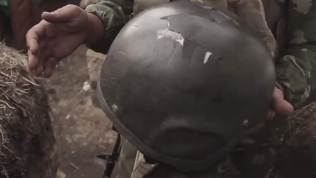 Український воїн дивом вижив після чергового обстрілу терористів на Донбасі